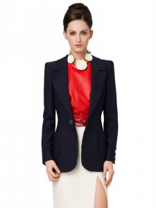 Blazer with pockets Oscar de la renta